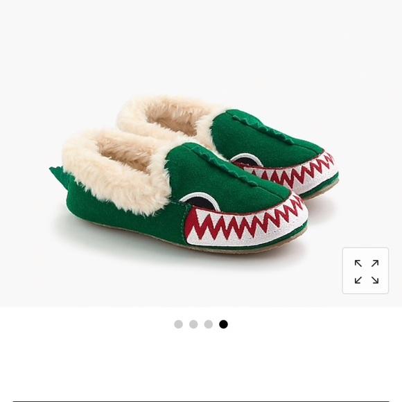 J Crew Kids Crocodile Slippers | Poshmark